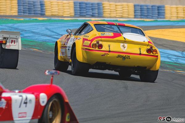 Ferrari 365 GTB/4 G.IV - Le Mans Classic 2018
