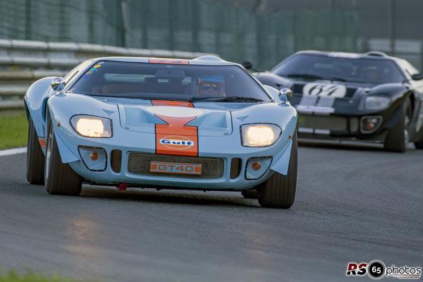 Ford GT40 - Werner Federer - Histo Cup - Bosch Race - Salzburgring 2021