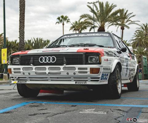 Audi Quattro - Sanremo Rallye Storico 2019