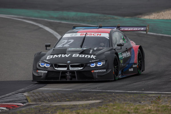 Nürburgring (GER), 8th to 11th June 2020. BMW M Motorsport, DTM test days. BMW works driver Lucas Auer (AUT), BMW Bank M4 DTM