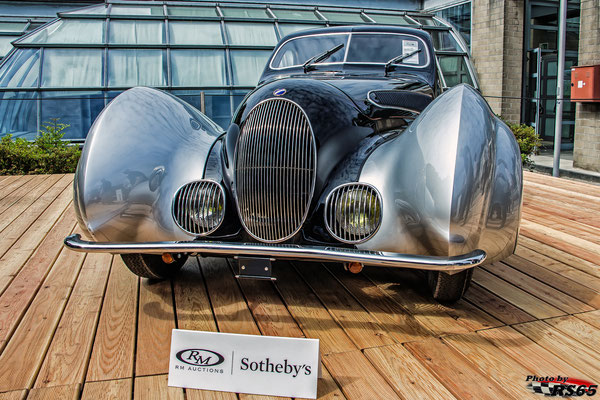 1937 Talbot Lago T150 - CSS Goutte d'Eau Coupe by Figoni et Falaschi
