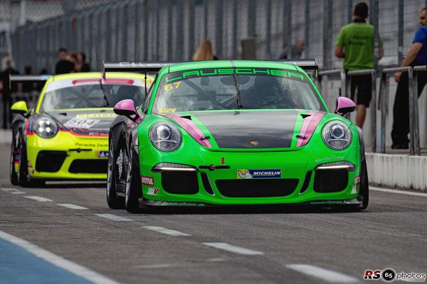 Porsche 991 GT3 Cup - Ingo Lauscher - Hockenheimring 2020