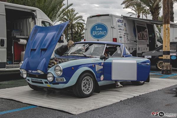 Fiat 124 Abarth - Sanremo Rallye Storico 2019
