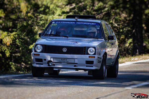 VW Golf II Bi-Motor Pikes Peak - Rossfeldrennen 2018