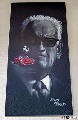 Enzo Ferrari / Auto-Salon-Singen