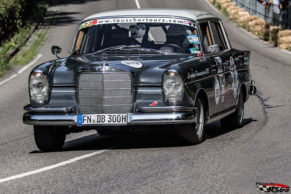 Mercedes Benz 300 SE W112 Heckflosse - Solitude Revival 2019