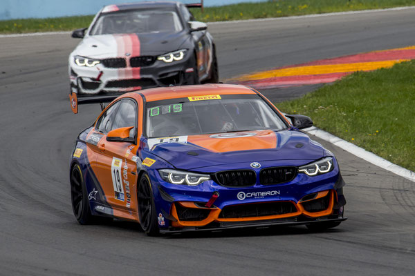 GT4 America, BMW M4 GT4, Stephen Cameron Racing.