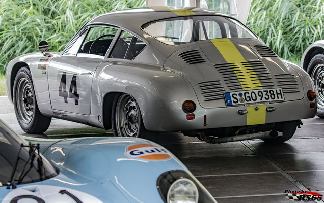 Porsche 356 B 2000 GS Carrera GTL Abarth - Solitude Revival 2019