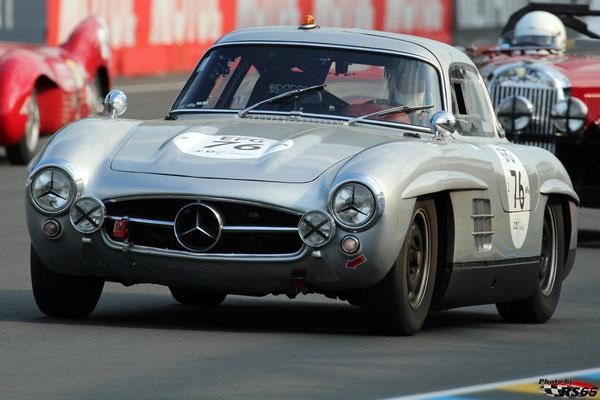 Mercedes Benz 300 SL - Le Mans Classic 2018