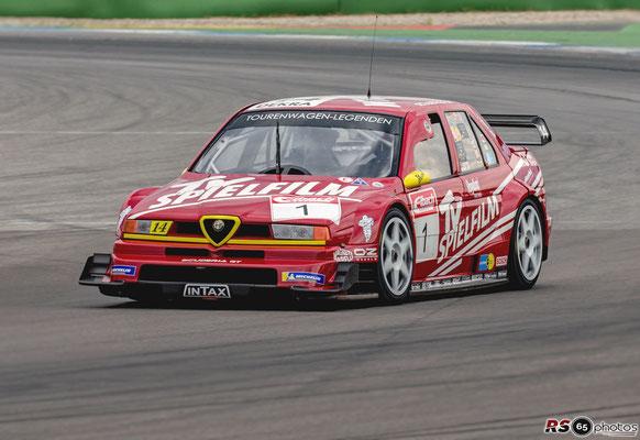 Alfa 155 V6 DTM/ITC 1996 - Stefan Rupp - Hockenheimring 2020