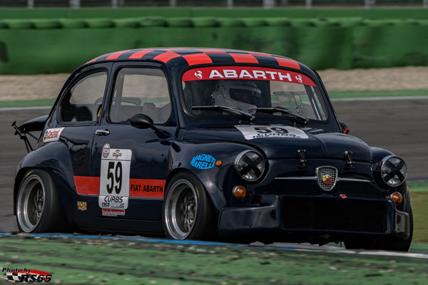 Fiat Abarth 1000 TC - Manfred Niederberger - Kampf der Zwerge - Hockenheimring 2018