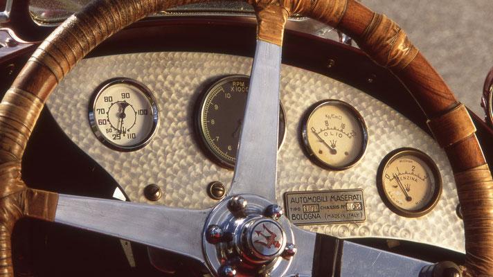 Maserati 8CTF Indianapolis Gewinner - ® John Lamm