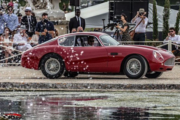 Aston Martin DB4 GT Zagato Continuation  - Chantilly Arts & Elegance Richard Mille 2019