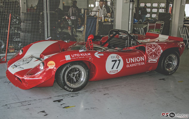Lola T70 MK II Spyder - Martin Wachter - Canadian American Challenge Cup