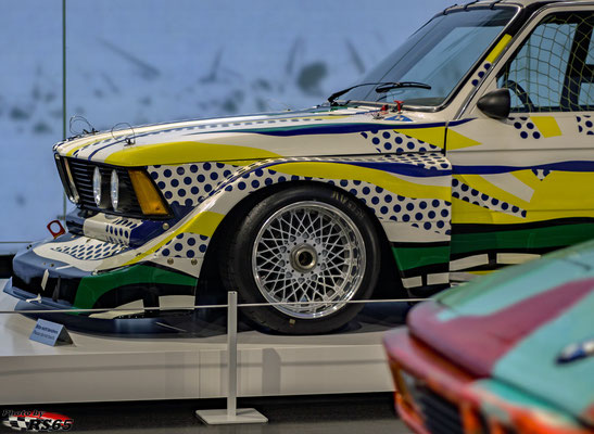 BMW 320i - Roy Lichtenstein 1977