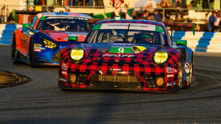 Porsche 911 GT3 R (9), IMSA WeatherTech Sportscar Championship, 1.Lauf, Daytona/USA, 2020