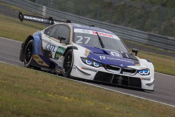 Nürburgring (GER), 8th to 11th June 2020. BMW M Motorsport, DTM test days. BMW works driver Jonathan Aberdein (RSA), CATL BMW M4 DTM