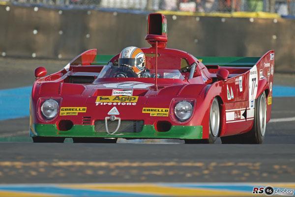 Alfa Romeo 33 TT 12 - Le Mans Classic 2018