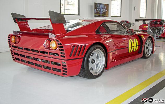 Ferrari 288 GTO Evoluzione - Enzo Ferrari Museum Modena