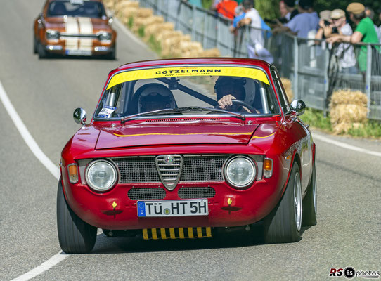 Alfa Romeo Giulia Sprint GT - Helmut Trebess - Solitude Revival 2019