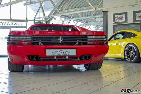 Ferrari 512 TR / Auto-Salon-Singen