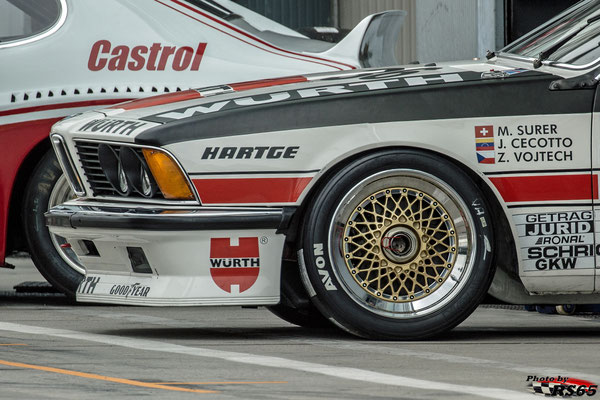 BMW 635 CSI - Monza Historic 2019 - Peter Auto