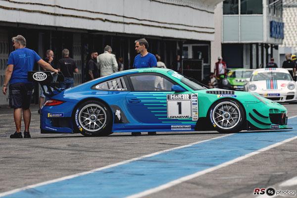 Porsche 997 GT3 R - Ulrich Becker - Hockenheimring 2020