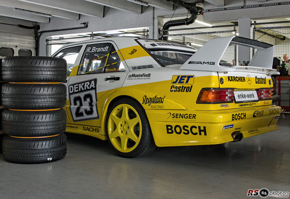 Mercedes-Benz 190E 2.5-16 - Ronny Brandt - Hockenheimring 2020
