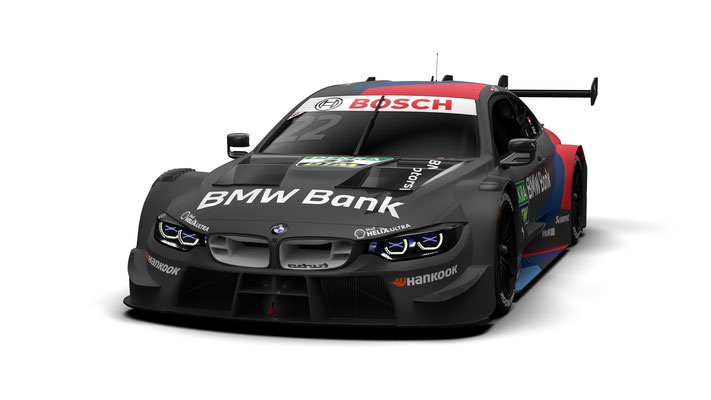 BMW M Motorsport, 2020 DTM Season, #22 BMW Bank M4 DTM, BMW Works Driver Lucas Auer (AUT)