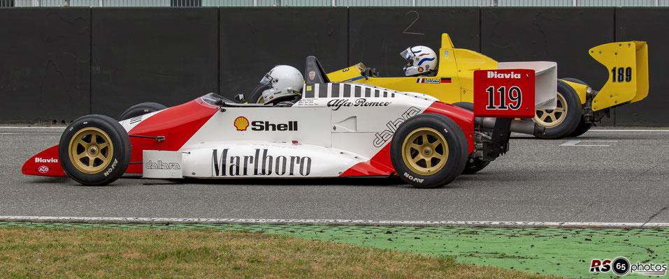 Dallara-Alfa Novamotor F388 - Peter Schmitz - FHR Spring Classic - Hockenheimring 2021