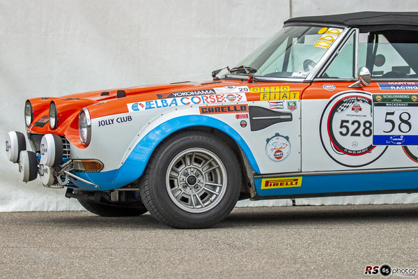 Fiat 124 Rallye Groupo 4 - Wolf Dieter Roetzer - Solitude Revival 2019