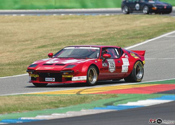 De Tomaso Pantera GT4 - Franz Straub - Hockenheimring 2020