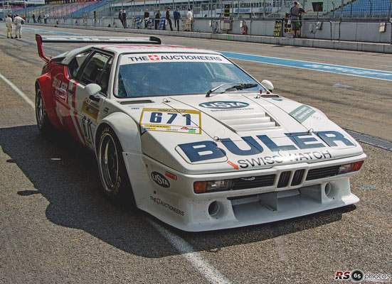BMW M1 Procar (1979) - Buler Swiss Watch - Hockenheim Historic - Das Jim Clark Revival 2017