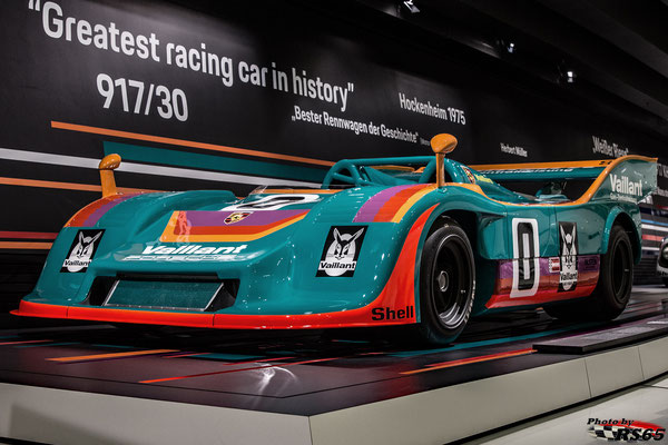 50 Jahre Porsche 917 - Colours of Speed - Porsche Museum