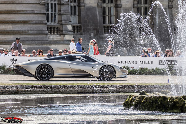 McLaren Speedtail - Chantilly Arts & Elegance Richard Mille 2019