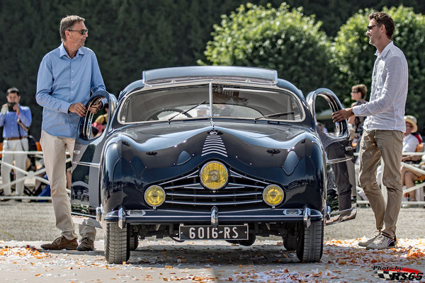 Talbot Lago T26 GS Figoni & Falaschi Coupe - Chantilly Arts & Elegance Richard Mille 2019