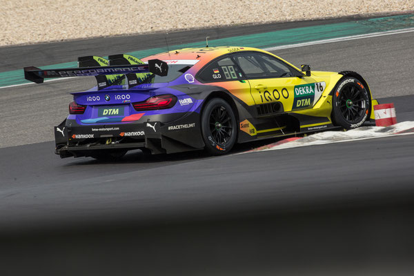 Nürburgring (GER), 8th to 11th June 2020. BMW M Motorsport, DTM test days. BMW works driver Timo Glock (GER), iQOO BMW M4 DTM