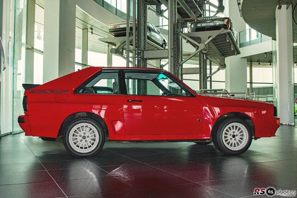 Audi Sport quattro Coupé - 40 Jahre Audi quattro