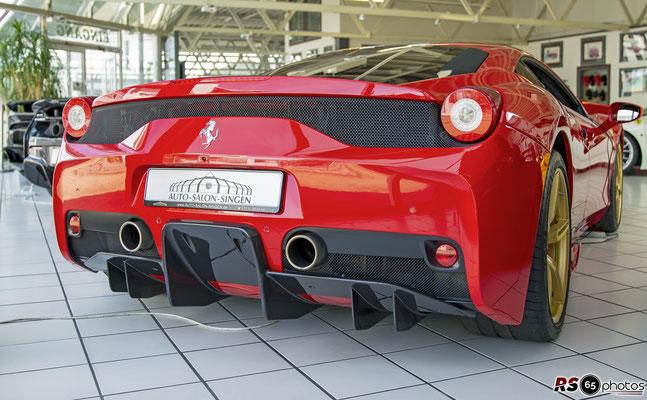 Ferrari 458 Speciale / Auto-Salon-Singen
