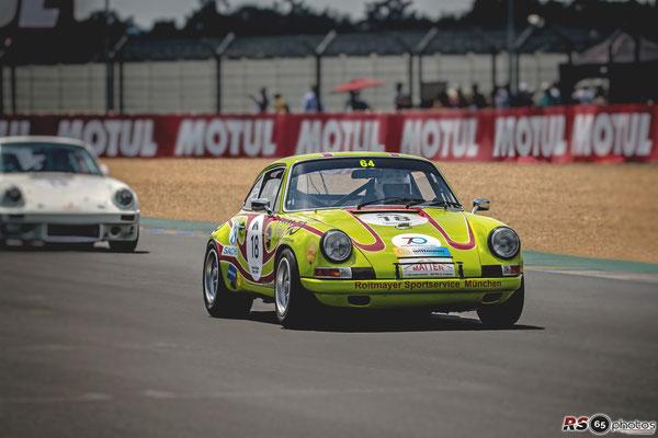 Porsche 911 ST 2.4 L - Porsche Classic Race Le Mans 2018