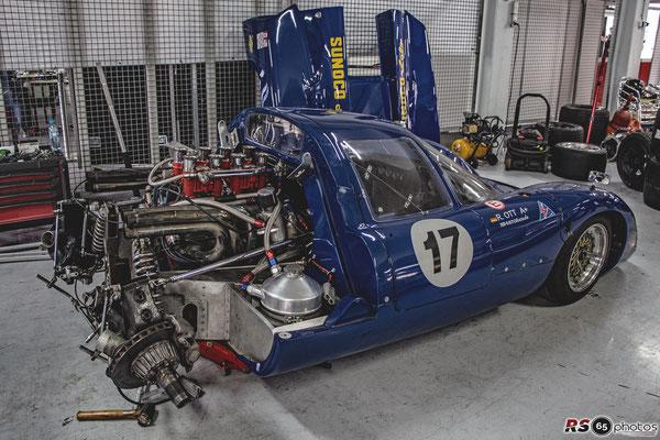Lola T70 MK III B - Rainer Ott - Canadian American Challenge Cup
