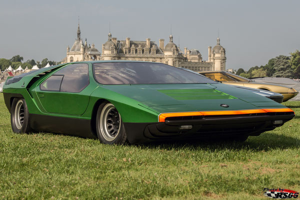 Alfa Romeo 33 Carabo - Chantilly Arts & Elegance Richard Mille 2019