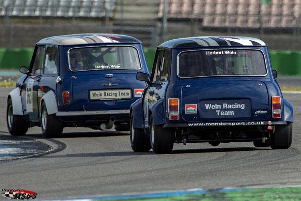 Austin Mini Cooper Herbert Wein - Hockenheimring 2018