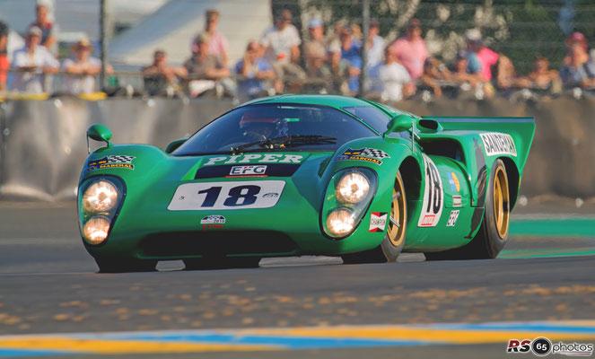 Lola T70 Mk III B- Le Mans Classic 2018