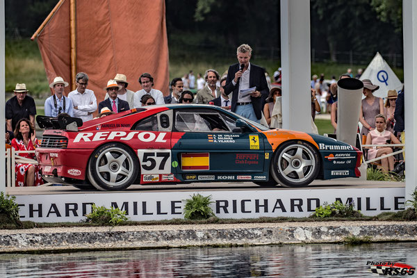Ferrari 348 GTC LM - Chantilly Arts & Elegance Richard Mille 2019