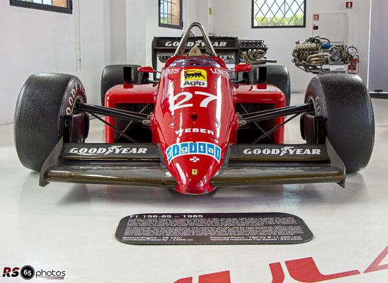 Ferrari F1 156/85 - Enzo Ferrari Museum Modena