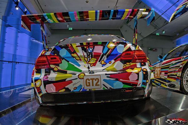 BMW M3 GT2 - Jeff Koons