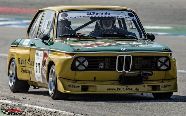 BMW 2002-Rainer Fischer-VFV GLPpro-Preis der Stadt Stuttgart 2019-Hockenheimring