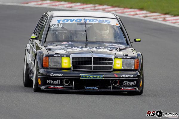 Mercedes Benz 190 E - Fabian Scharte - Histo Cup - Bosch Race - Salzburgring 2021