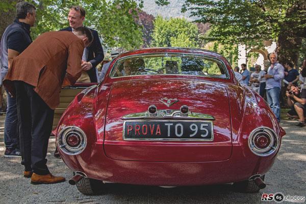 Fiat 8V Supersonic - Concorso d'Eleganza Villa d'Este